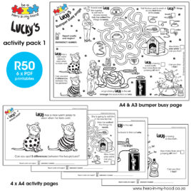 Lucky's Activity Pack 1 English