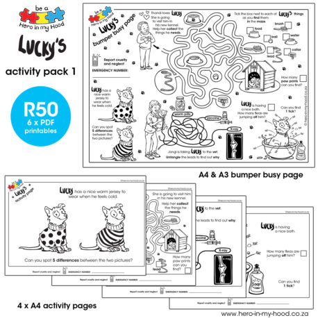 ©hero-in-my-hood.co.za Lucky's activity pack 1 promo Eng